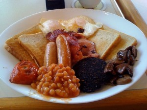 Good 'ol Full English Breakfast
