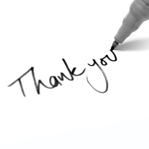 Thank-you-notes
